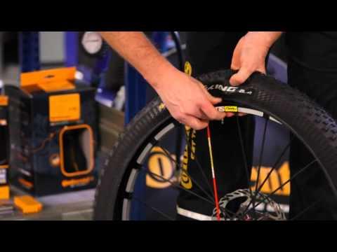 Continental Tubeless Ready Reifen Vorbereiten Youtube