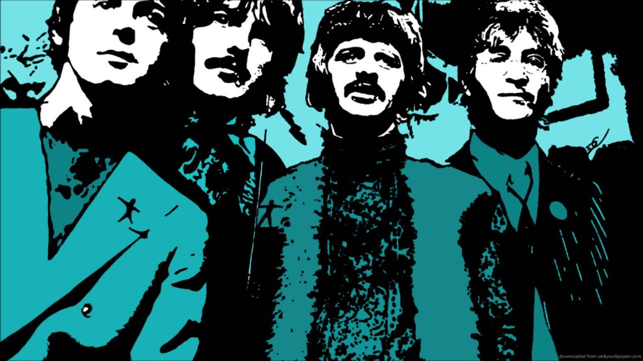 Pop Art Wallpapers 60 Images: The Beatles- Lucy In The Sky With Diamonds (Remix) [Deep