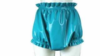 Latex rubber diaper covers, bloomers & adult baby clothes
