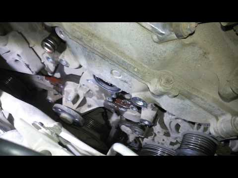 Camry V40, 3.5l Замена водяного насоса (помпы).