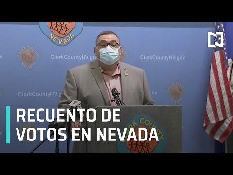 Reportan que conteo final en Nevada va a demorar - Las Noticias