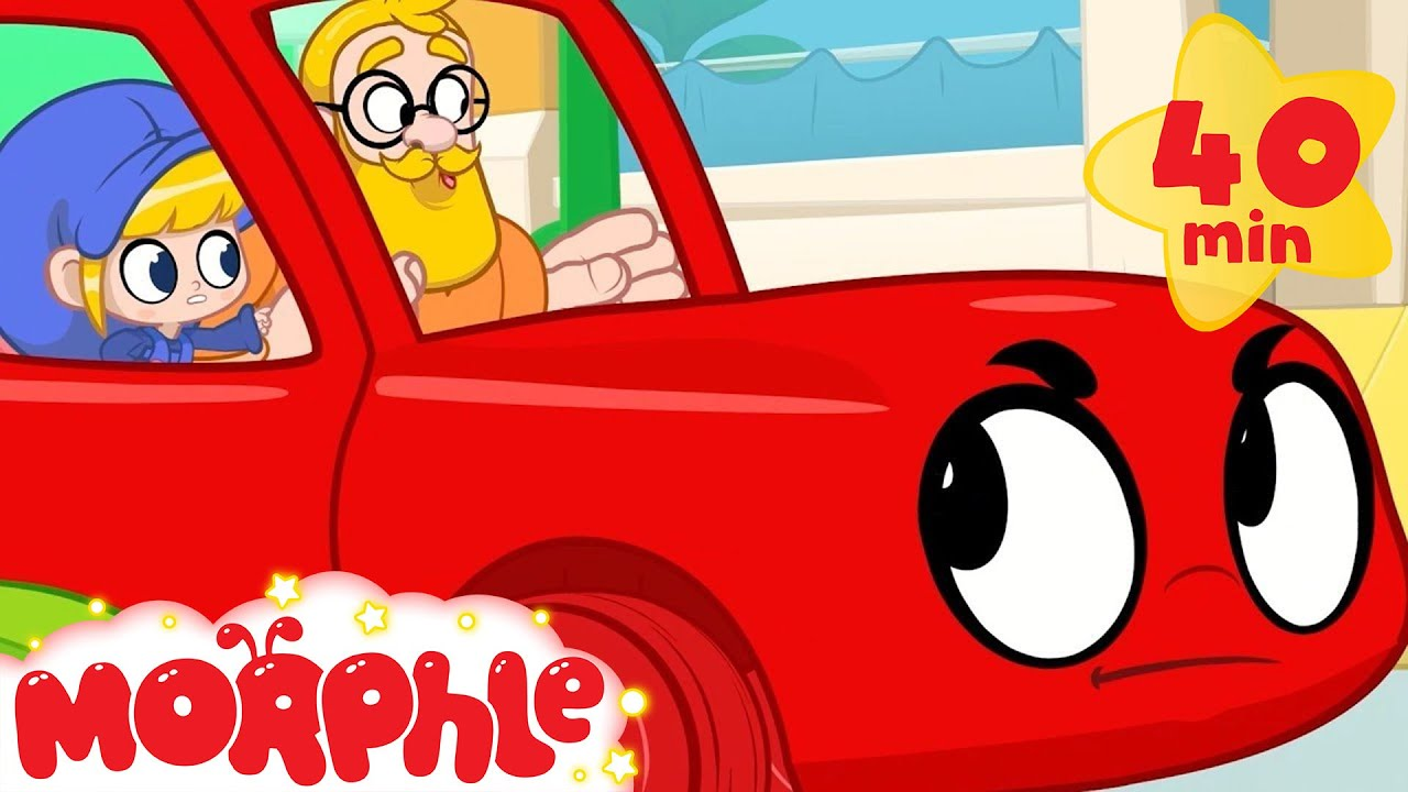 Morphle Gets MAD!!!! - My Magic Pet Morphle   Cartoons For Kids   Morphle TV