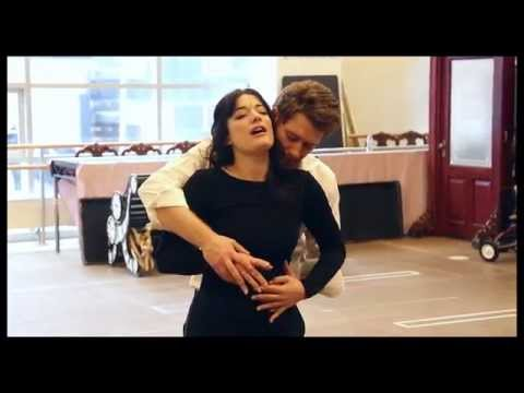 "FINDING NEVERLAND in Rehearsal: ""What You Mean to Me"" with Matthew Morrison & Laura Michelle Kelly"
