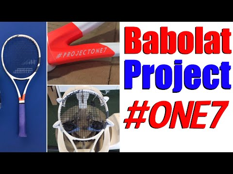 Babolat #ProjectOne7 Tennis Racket Review | Top Tennis Training