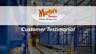 Martin's Famous Pastry Shoppe | AS/RS | Customer Testimonial