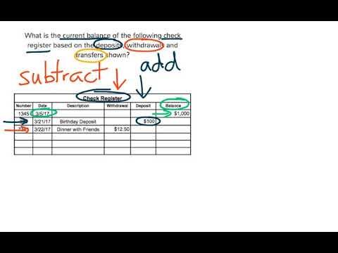 6FL3-10 Check Registers - YouTube