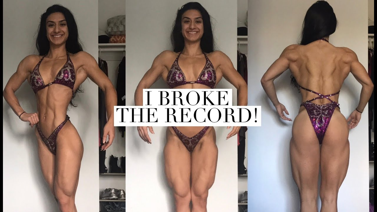 Leanest Female Recorded| My Body Fat% | Dexa Scan Results| 7 DAYS OUT|  Unbreakable Ep.28