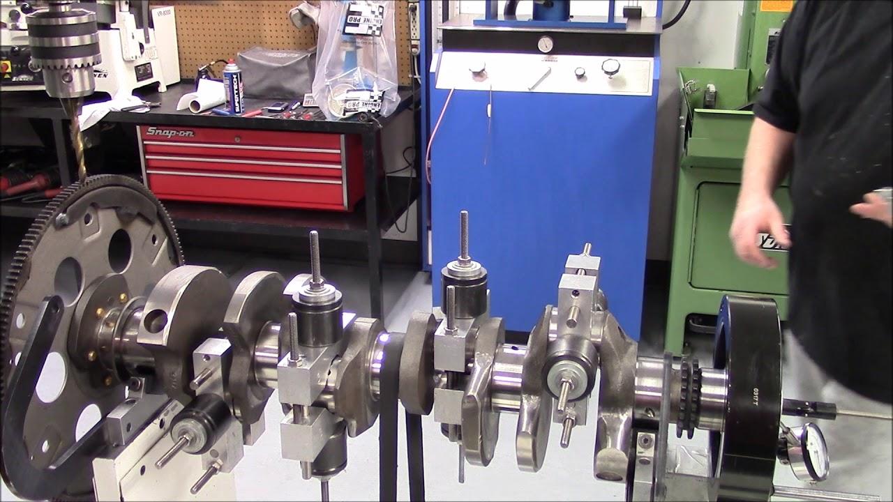 Part 8 Rotating Assembley Balancing - Bob Weight Setup 620 HP 454 Big Block  Chevy Engine Build