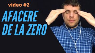 AFACERE DE LA ZERO #2 | Alegerea Denumirii | Departamente | Studiul pietei  | Pasi de lansare
