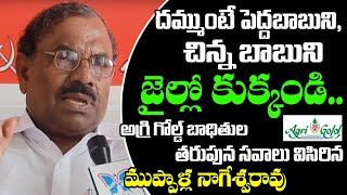 CPI Leaders Muppala Nageswarao Face To Face About Justice For AgriGold Victims | CPI State Secretary