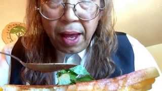 Grilled Cheese Sandwich, Tomato Soup, Lemons, Basil, Logos Kitty And Asmr Story