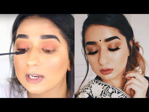 Hindi Beginner Eye Makeup look Step by Step || Brownbeautysimor