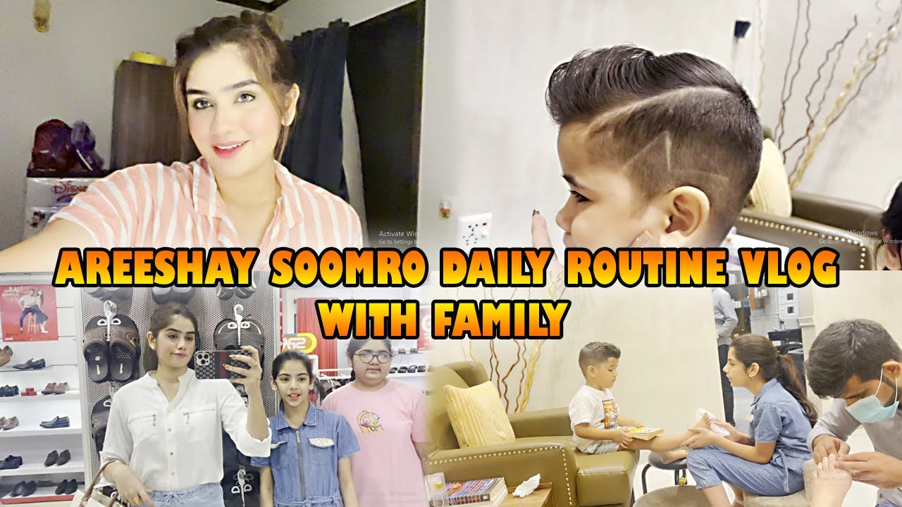 Download AREESHAY SOOMRO DAILY ROUTINE WITH FAMILY