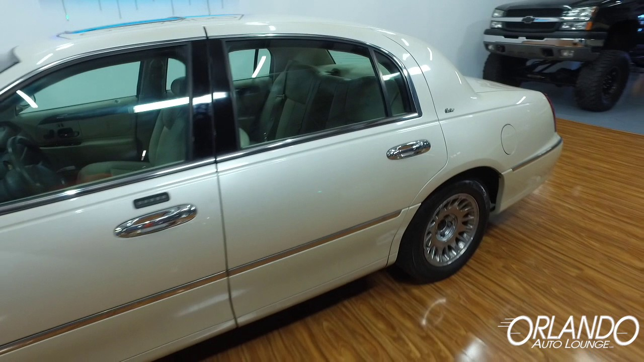 Live Video 1999 Lincoln Town Car Cartier 1 11 Oal Youtube
