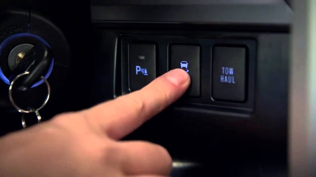 Tundra How To VSC Off Button 2014 Toyota Tundra  YouTube