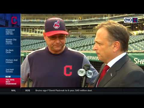 Terry Francona reveals what makes this winning streak so special for Cleveland