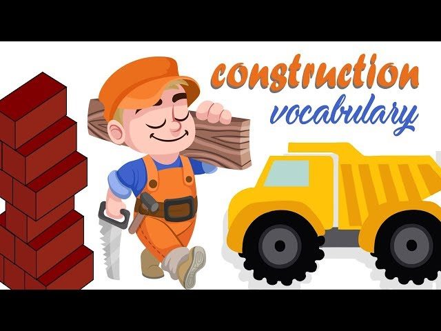 Construction | English Vocabulary  | kids vocabulary | Toddler Learning  | vocabulary for kids