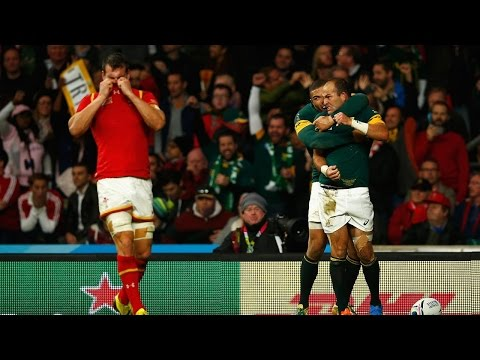 South Africa v Wales - Match Highlights and Tries - Rugby World Cup 2015