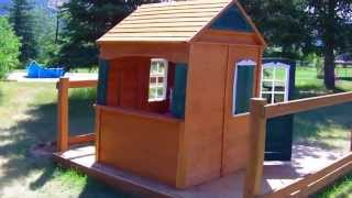 Big Backyard Bayberry Ready-to-assemble Wooden Playhouse Review
