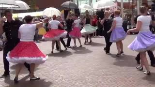 2016 - Dance Show 50's Rock 'n Roll / Boogie Woogie / Jive Dance Mix by Dance to the 60's