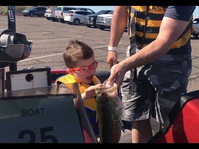 Special-needs kids C.A.S.T. for fishing memories