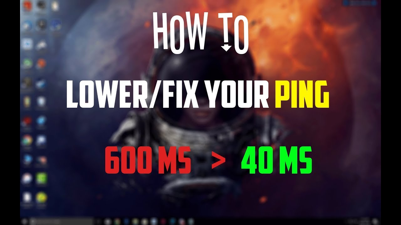 ☆How to Lower/Fix Your Ping in all Games 2018 (No lag) ☆ - YouTube