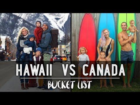 CHRISTMAS IN HAWAII OR CANADA??