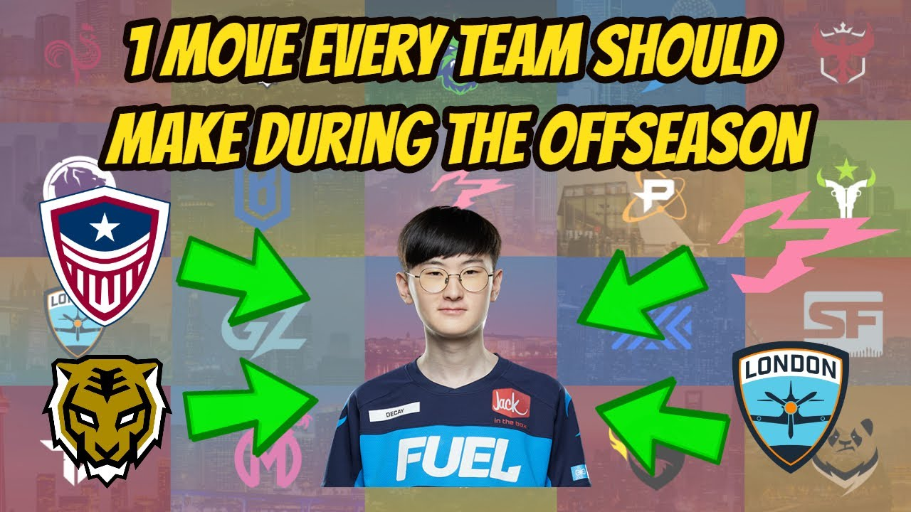 One Move Every OWL Team Should Make During the Off-Season
