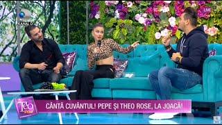 Teo Show (27.10.2020) - Duet fenomen! Pepe si Theo Rose iti fac sangele sa clocoteasca!