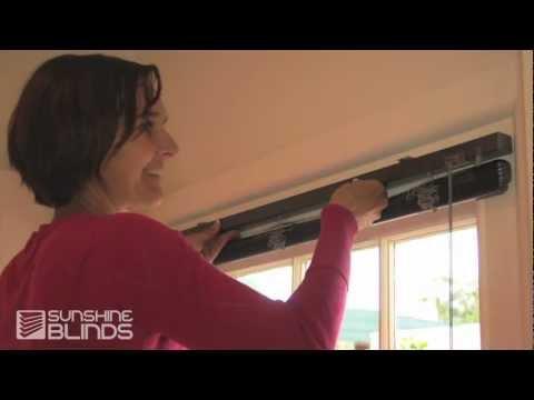 How To Install Aluminium Venetians - Sunshine Blinds Instructional Video