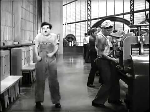modern times factory scene analysis essays