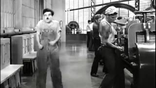 Chaplin Modern Times   Factory Scene HD