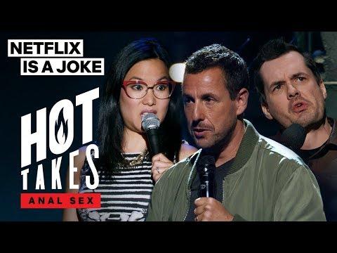 The Anal Sex Experiences of Ali Wong, Adam Sandler, and Jim Jefferies | Netflix Is A Joke