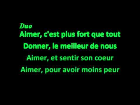 Aimer - Vidéo avec Paroles / Lyrics - Roméo et Juliette - Comédie Musicale