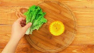 Салат в апельсине - Рецепты от Со Вкусом
