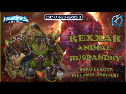 Grubby | Heroes of the Storm - Rexxar - Animal Husbandry - HL 2017 S3 - Infernal Shrines