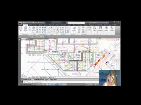 Select AutoCAD Objects Easily WithSelection Cycling (Lynn Allen/Cadalyst Magazine)