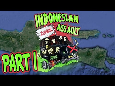 Deraign & Kaustic Attack Indonesian Assault Tour (Part 1/2)