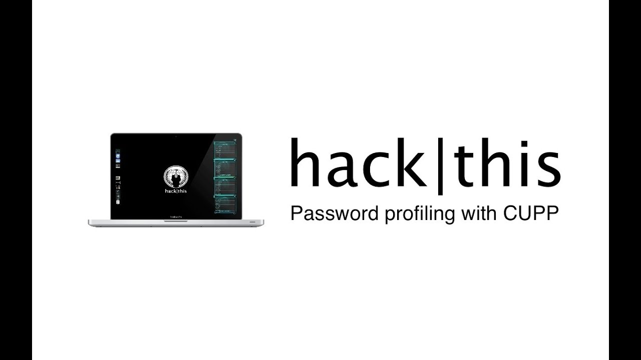 How To: Password Profiling With CUPP In BackTrack 5