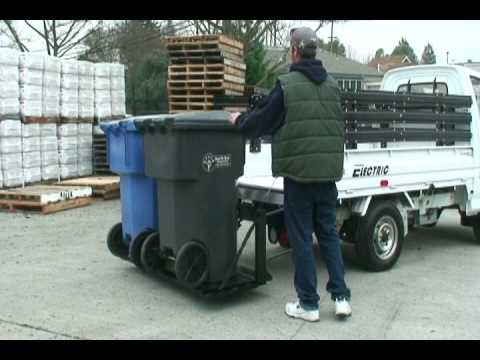 4ae598a430458d ZAP XL Electric Truck Featuring a Tommy Lift Gate - YouTube