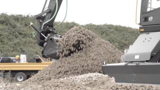 Volvo E-series wheeled excavators: control with confidence