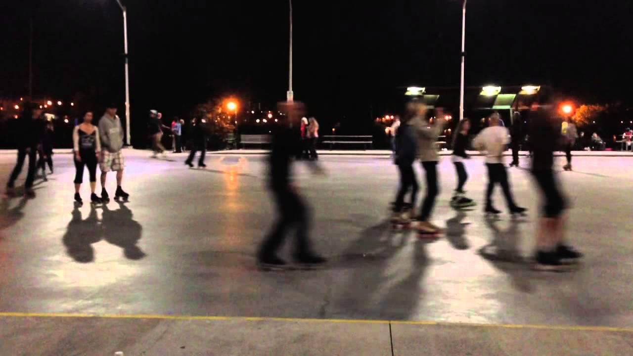 Roller skating rink ontario - Friday May 29 2015 Rollin In The Park At Pier 8 Hamilton Ontario