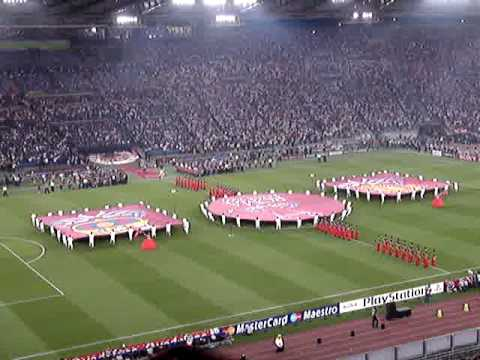 Opening Ceremony - Champions League Roma finale 2009