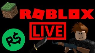 🔴Roblox Live || 😱Island Royale, MM2 , Strucid + More! || 🤑Robux Giveaway || Minecraft #RoadTo1K🔴