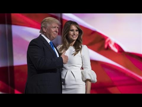Donald Trump Introduces Wife Melania on Stage at RNC