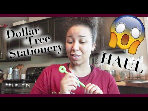 Dollar Tree Haul   Stationary / Back To School Supplies For Planners 2019