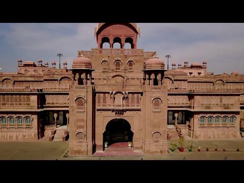 Laxmi Niwas Palace Bikaner Luxury Heritage Hotel Drone Video Allan Blanchard Review