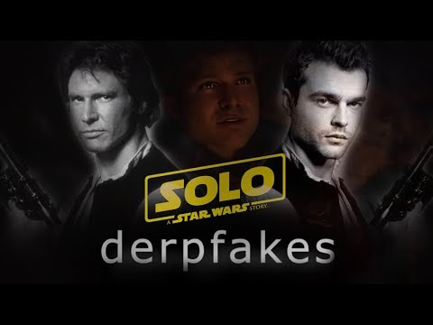 Harrison Ford is the star of Solo: A Star Wars Story thanks to deepfake technology