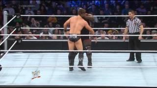 WWE SMACKDOWN 28/3/14 MARK HENRY VS THE MIZ