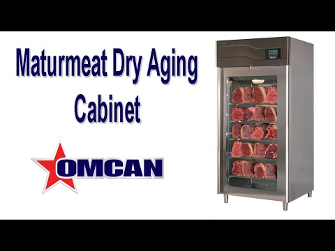 Maturmeat Maturation Cabinet Dry Aging Cabinet Youtube